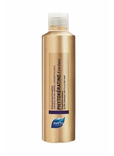 PHYTO PHYTO Phytokeratine Extreme Exceptional Shampoo 200 ml - Yıpranmış, Kırılgan ve Kuru Saçlar Renksiz